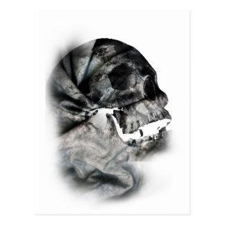 Wellcoda XRay Skull Head Scan Human Face Postcard