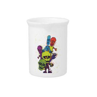 Wellcoda Zombie Apocalypse Monster Family Beverage Pitcher