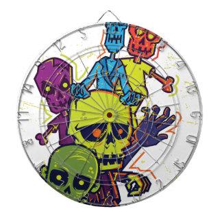 Wellcoda Zombie Apocalypse Monster Family Dartboards