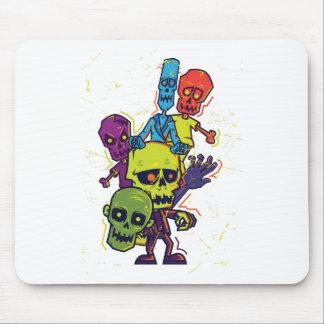 Wellcoda Zombie Apocalypse Monster Family Mouse Pad