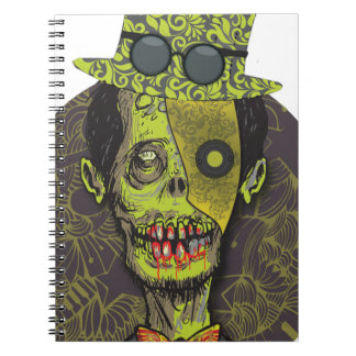 Wellcoda Zombie Dead Monster Scary Creepy Spiral Notebook