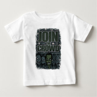 Wellcoda Zombie Monster Crowd Dead Scary Baby T-Shirt