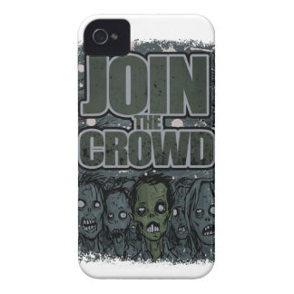 Wellcoda Zombie Monster Crowd Dead Scary iPhone 4 Case-Mate Case