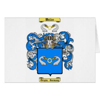 Weller (alemán (ns)) tarjeta de felicitación