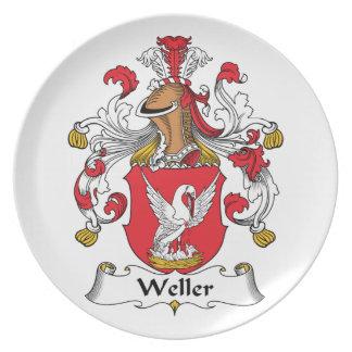 Weller Family Crest Dinner Plate
