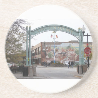 Welles Park Bulldog  Sandstone Coaster
