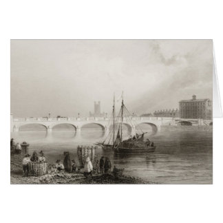Wellesley Bridge, Limerick, Ireland Card