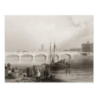Wellesley Bridge, Limerick, Ireland Postcard