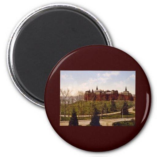 Wellesley College Massachusetts Fridge Magnets