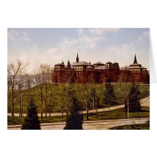 Wellesley College Massachusetts Tarjeta