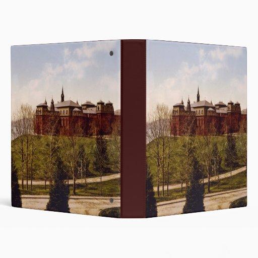 Wellesley College Massachusetts Vinyl Binders