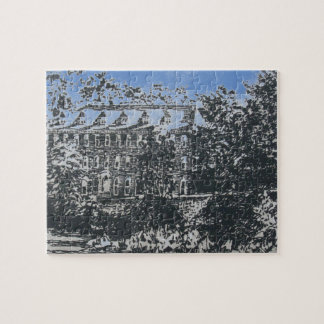 WELLESLEY COLLEGE PUZZLE: LAKE HOUSE JIGSAW PUZZLE