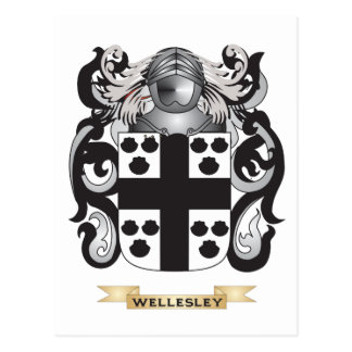 Wellesley Family Crest (Coat of Arms) Postcard