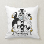 Wellesley Family Crest Pillows