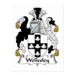 Wellesley Family Crest Post Card