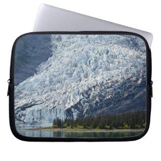 Wellesley Glacier in College Fjord Laptop Sleeves