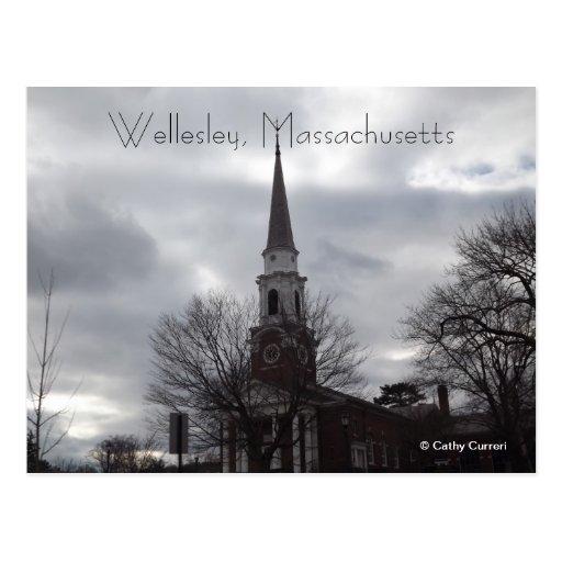 Wellesley, Massachusetts Postcard