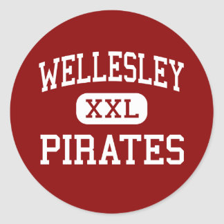 Wellesley - piratas - alto - Wellesley Etiqueta