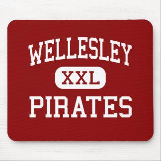 Wellesley - piratas - alto - Wellesley Alfombrillas De Raton