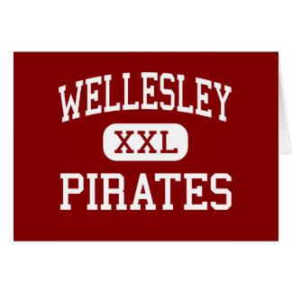 Wellesley - piratas - alto - Wellesley Tarjetas