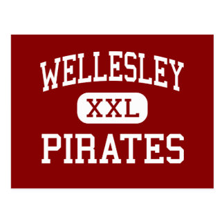 Wellesley - piratas - alto - Wellesley Tarjetas Postales