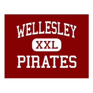 Wellesley - Pirates - High - Wellesley Postcard