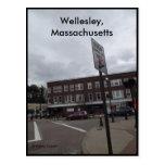 Wellesley, postal de Massachusetts