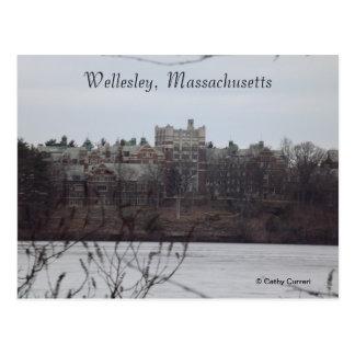 Wellesley postal de Massachusetts