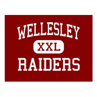 Wellesley - Raiders - High - Wellesley Postcard