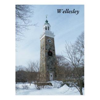 Wellesley Tarjeta Postal