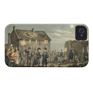 Wellington and Blucher Meeting by Accident at the iPhone 4 Case-Mate Case