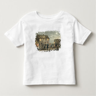 Wellington and Blucher Meeting by Accident at the Toddler T-shirt