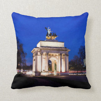 Wellington Arch Throw Pillow