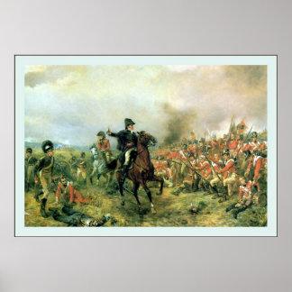 Wellington at Waterloo Poster