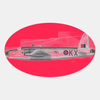 wellington british bomber sticker