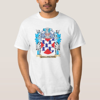 Wellington Coat of Arms - Family Crest Tee Shirt