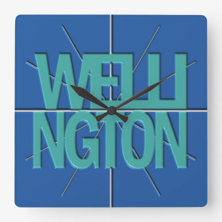 Wellington Finance Timezone Wall Clock