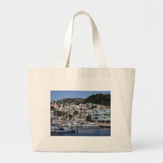 Wellington Harbour Tote Bag