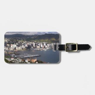 Wellington Harbour, New Zealand Luggage Tag