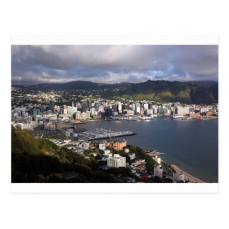 Wellington Harbour, New Zealand Postcard