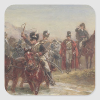 Wellington in Spain (oil on panel) (pair of 124470 Stickers