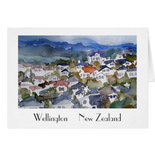 Wellington New Zealand Greeting Card
