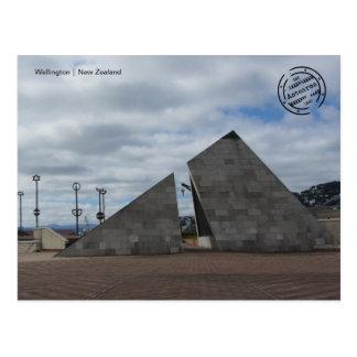 Wellington (New Zealand) postcard