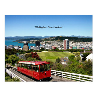 Wellington, New Zealand scenic photo Postcard