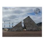 Wellington (Nueva Zelanda tarjeta postal)