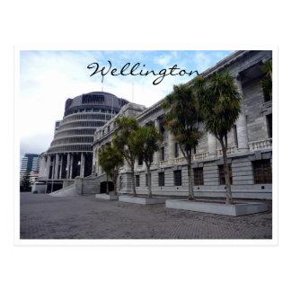 wellington parliament buildings post cards
