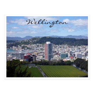 wellington view postcard