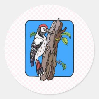 Wellington Woodpecker Stickers