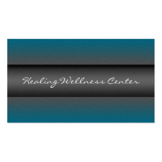 Wellness Center Appointment Cards Business Card