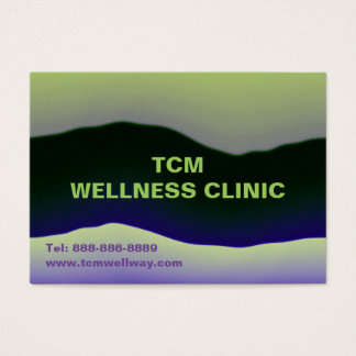 WELLNESS CLINIC PATIENT Appointment Business Cards